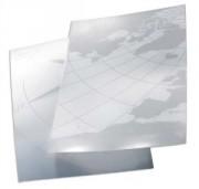 Boîte de 100 Couvertures en polypropylène PolyclearView A4 300µ translucide gratiné et mate IB387166 - Gbc