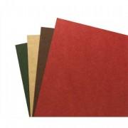 Boîte de 100 Couvertures recyclées A4 rouge 4400005 - Gbc