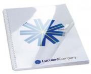 Boîte de 100 Couvertures transparentes 240µ incolore CE012480E - Gbc