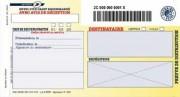 Boite de 100 liasses recommandées guichet avec AR SGR2 - PAS DE MARQUE
