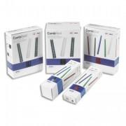 Boîte de 100 Peignes plastique 8MM blanc capacité 40 feuilles 4028194 - Gbc