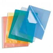 Boîte de 100 pochettes-coin Copy Safe vert en polypropylène 11/100e - Esselte