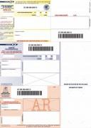 Boîte de 1000 imprimés recommandés avec AR A4 IB1. Laser et jet d'encre - PAS DE MARQUE