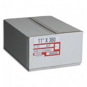 Boîte de 1250 paravents listing format 380x11 pouces 2 exemplaire blanc bande caroll fxe - SPAT