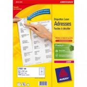 Boîte de 1400 étiquettes laser blanc 99,1X38,1mm L7163-100 - Avery