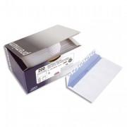Boîte de 200 enveloppes 110x220mm blanches fenêtre 45x100mm 100g auto-adhésives 5507 Qualité + - GPV