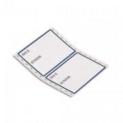 Boîte de 2000 étiquettes ordinateur expédition envoi/destinatire format 12x7,4 mm - Avery
