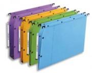 Boite de 25 dossiers suspendus az pour armoire azv fond 15mm bleu 500501 - L'Oblique AZ