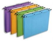 Boite de 25 dossiers suspendus az pour tiroir azo fond 15mm assortis 200051 - L'Oblique AZ