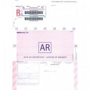 Boite de 250 imprimés recommandés avec AR international A4 IB1 3263 - PAS DE MARQUE