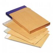 Boîte de 250 pochettes à 3 soufflets auto-adhésives 280 x 375 - La Couronne