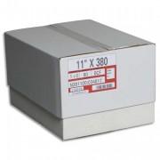 Boîte de 2500 paravents listing format 380x11 pouces 1 exemplaire zoné vert 60 gr bande caroll fixe - SPAT