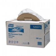 Boîte de 280 chiffons non tissés multi usages gris SCA - Tork