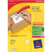 Boîte de 400 étiquettes laser blanc 99.1X139mm L7169-100 - Avery
