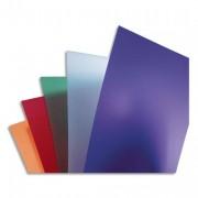 Boîte de 50 couvertures PolyTechno blanc glacé A4 700 microns IB387210 - Gbc