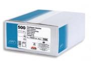 Boîte de 500 enveloppes C6 114x162mm blanches auto-adhésives NF & PEFC 90g - GPV