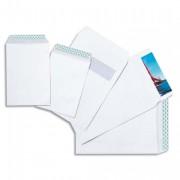Boîte de 500 pochettes auto-adhésives velin blanc 90g format 176x250 B5 - GPV
