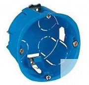 Boite de dérivation encastrable - Disponible en profondeur 40 et 50 mm