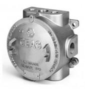 Boîte de jonction ATEX antidéflagrant - Zones d'utilisation : 1, 2, 21 et 22 (risques gaz et poussières)