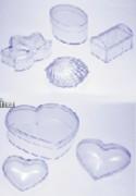 Boite de présentation transparente - Formes et coloris variés