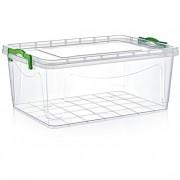 Boîte de rangement plastique polyvalente  - Températures d'utilisation : -25°C - + 95°C