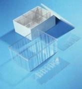 Boite de rangement séparable et empilable - Dimensions intérieures (L x l x H) mm : 178 x 117 x 48 à 315 x 230 x 132