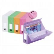 Boîte de transfert dos 9,5cm en ABS FUNBOX coloris assortis - OAZ