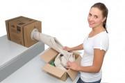 Boite distributrice papier calage - 1 bobine = 3 sacs  -  Sans installation
