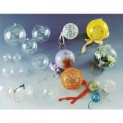 Boîte en plastique forme boule - Diamètre intérieur (mm) : De 47 à 160