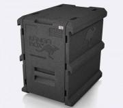 Boîte isotherme 60 x 40 - Dimensions (L x l x H) : 610 x 410 x 510 mm
