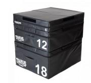 Boîte pliométrique en mousse - 3 hauteurs disponibles: 15, 30 et 45 cm