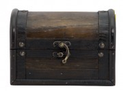 Boite porte-addition en contreplaqué - Contreplaqué  - Dimensions : 11 x 15,8 x 11,4 cm