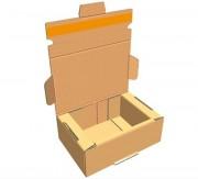 Boite postale carton renforcé - Avec bande adhésive