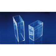 Boîte rectangulaire en plastique - Dimensions intérieures (L x l x H) mm : 288 x 224 x 30 - 349 x 203 x 36