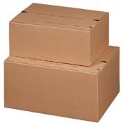 Boîte retour à fond automatique - Réalisée en carton ondulé micro-cannelure