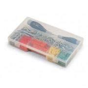 Boîte transparente à compartiments - - Dimensions (L x l x H):245 x 143 x 38 mm   - Compartiments : de 5 à 16