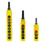 Boite à bouton pendante - La série comprend 6 modèles, de 2 à 12 boutons