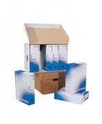 Boites archives - Boîtes archives avec une impression bleue
