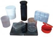 Boîtes de conditionnement en plastique - Transparentes ou colorées