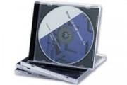 Boitier cristal double cd - Boitier cristal double cd 10mm pack 5