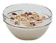 Bol verre pour serviteur à céréales 0.5 Litre - Contenance: 0,5 L - Poids: 0,3 kg - Diamètre: 14 cm