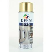 Bombe peinture acrylique effet métal OR - Contenance bombe de peinture : 400 ml - Couleur : Or