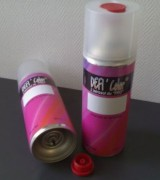 Bombe peinture auto - Volume : 200 ml, 400 ml, 500 ml.