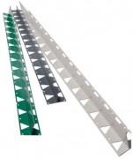 Bordure plastique pour jardin - Barres droites de 2.50 m - Flexible et souple