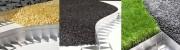 Bordure pour jardin en aluminium - Barres droites de 2.50 m