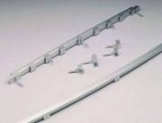 Bordures de piste en aluminium - Matière : Aluminium / Certifiées IAAF
