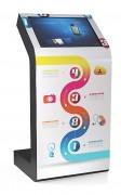 Borne 22'' tactile personnalisable - Diffusion des contenus riches et interactifs