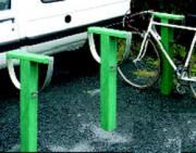 Borne à vélo en materiau recyclé - Station
