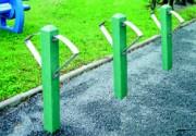 Borne à vélo en plastique recyclé 10x10 cm - Arbalete