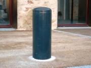 Borne acier anti stationnement - Borne acier